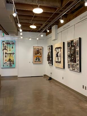 Athlone Clarke Exhibition at Kentuck Art Center - 2020