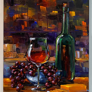 """""""Wine Expressions 4"""" by Anita Bice"""