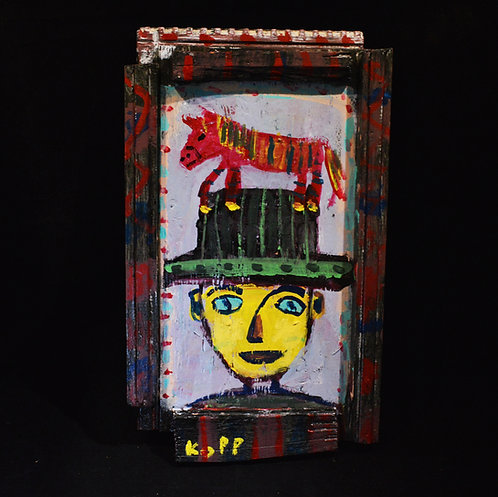 Horse on Hat-Jim Kopp