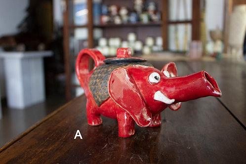 Elephant Teapot-Hayes Dobbins