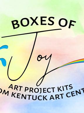 boxes of joy logo - Kentuck Art Center