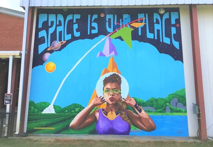 "Space is our Place by John ""Jahni"" Moore"