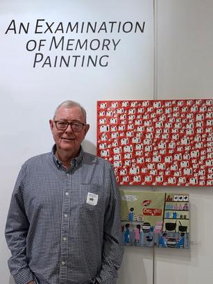 Jim Weaver at Kentuck Art Center - Memory Painting