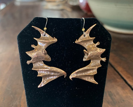 Bat Earrings-Ricky Boscarino
