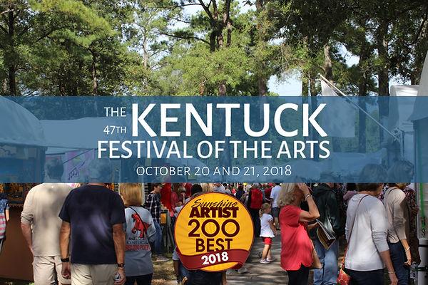 Kentuck Festival of the Arts Sunshine Artists 200 Best 2018
