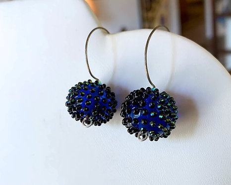 Royal Conifer Earrings-Kate Rothra Fleming