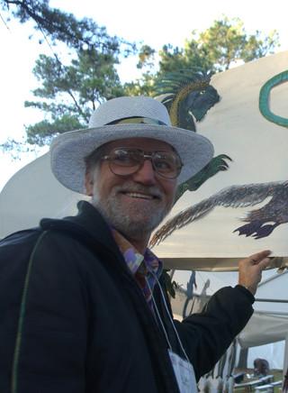 Dr Dot at the Kentuck Festival