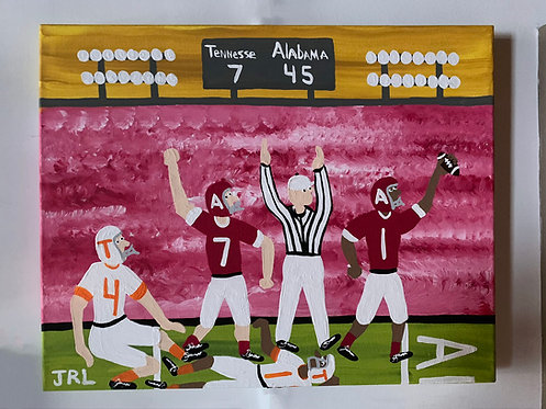 Alabama Over Tennessee-Rik Long