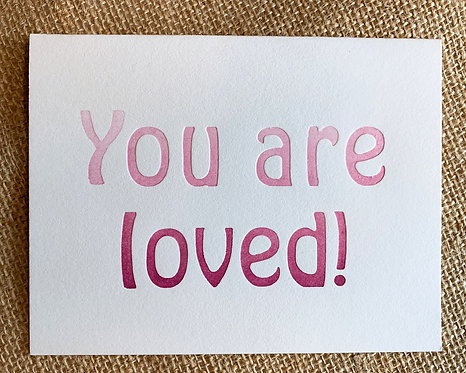 You Are Loved Card-Jessica Peterson