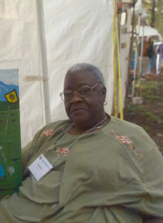 Bernice Sims at the Kentuck Festival