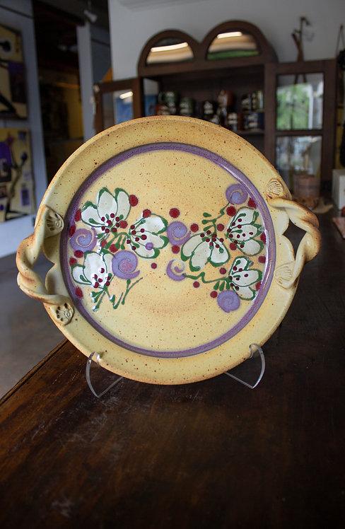 Yellow Serving Platter-Jill Tortorella