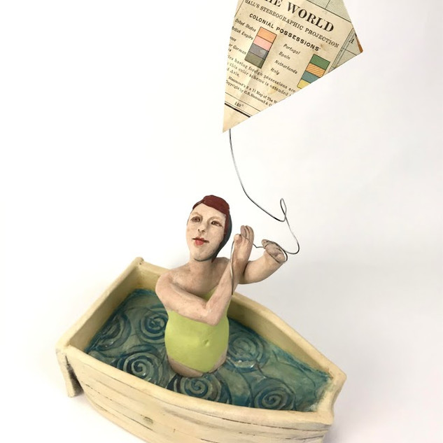 """""""What floats your boat"""" by Amy Goldstein-Rice"""