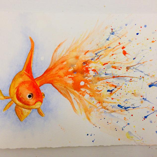 """Goldfish 1"" by Andrea Moen"