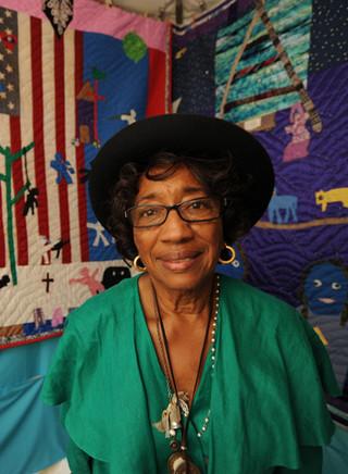 Yvonne Wells at the Kentuck Festival