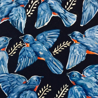 """Bluebirds"" by Jeanie Graham"