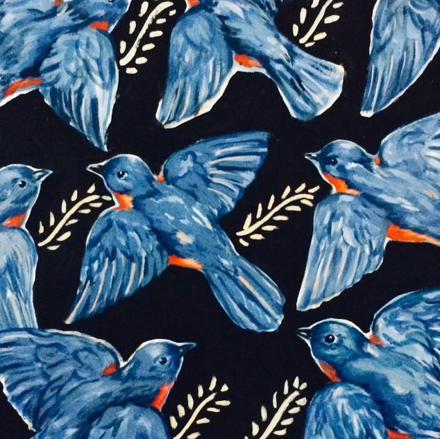"""Bluebirds"" by Jeanie Graham"