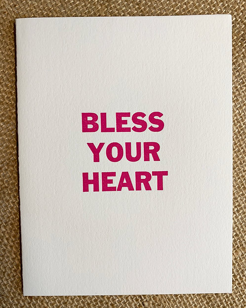 Bless Your Heart Card-Jessica Peterson