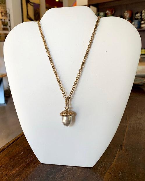Acorn Pendant Necklace-Ricky Boscarino