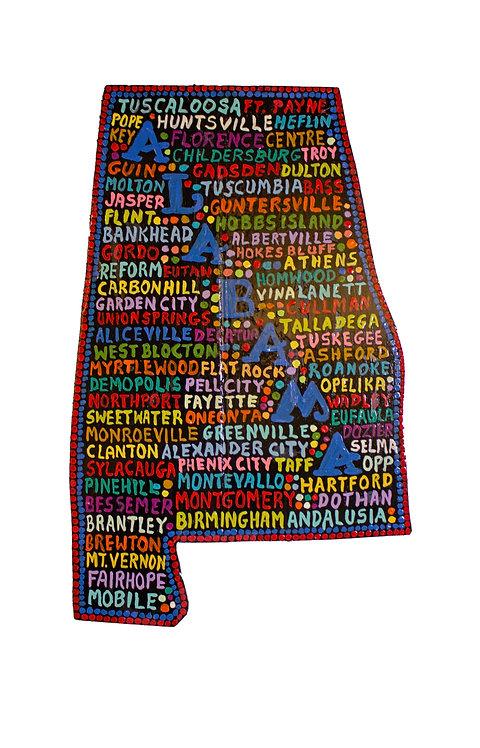 Alabama Wall-Hanging-Elayne Goodman