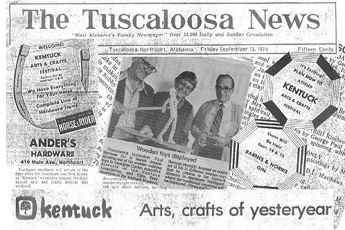 Tuscaloosa News Postcard