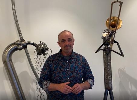 Clucked Up Metal Art: David Hammock Exhibition Recap