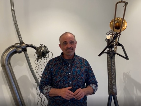 Clucked Up Metal Art: David Hammock Exhibition Recap