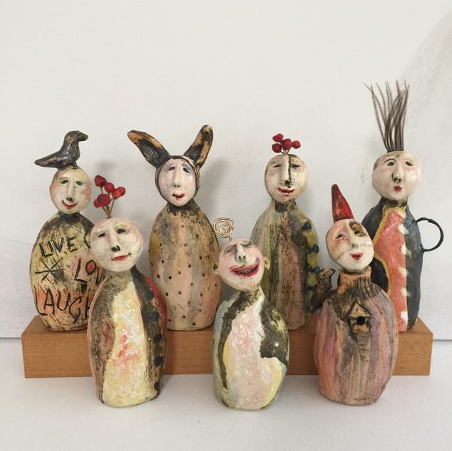 """""""Mini Totems"""" by Su Griggs Allen"""