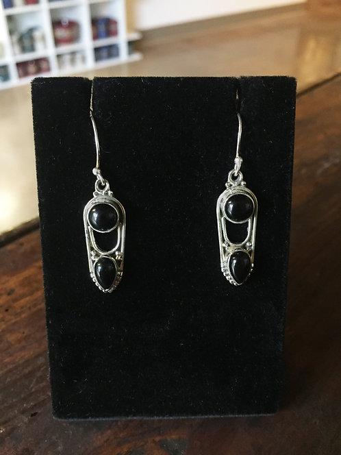 Onyx Earrings - Megan Austin