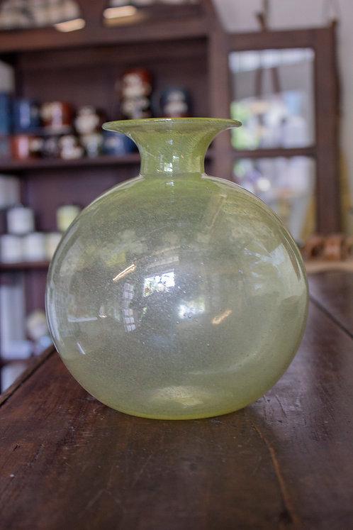 Yellow Glass Vase - Orbix