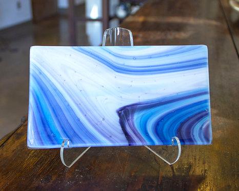 Blue Butter Dish - Joni Esser-Stuart