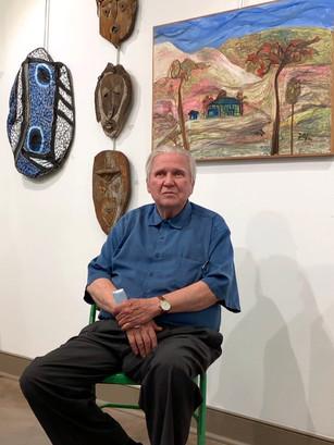 Jerry Coker at Kentuck Art Center 2021 - Folkstream by Coker