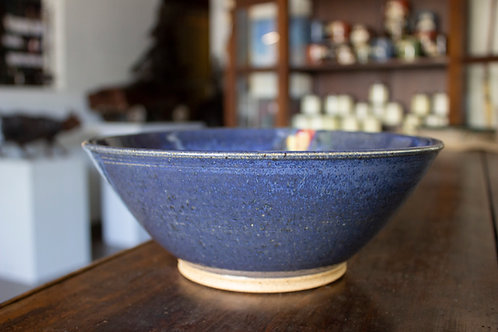 Blue Serving Bowl-Timothy Weber