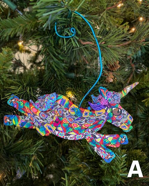 Unicorn Ornaments-Layl McDill