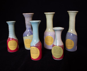 Weed Vases by Neely Portera