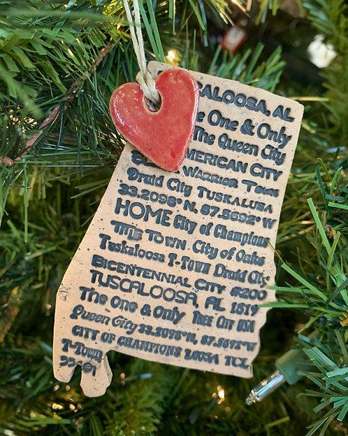 Tuscaloosa Alabama Ornament-Susan Allen