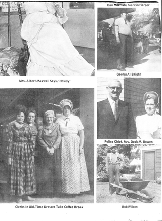 Photos from the original Kentuck Festival, October 1971