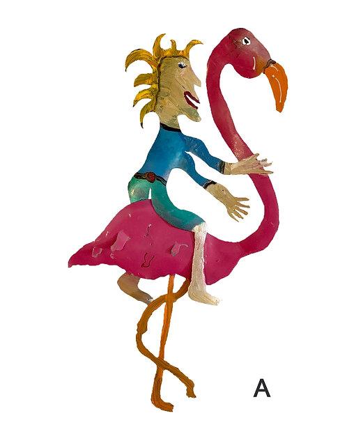 Flamingo Rider-Pat Juneau