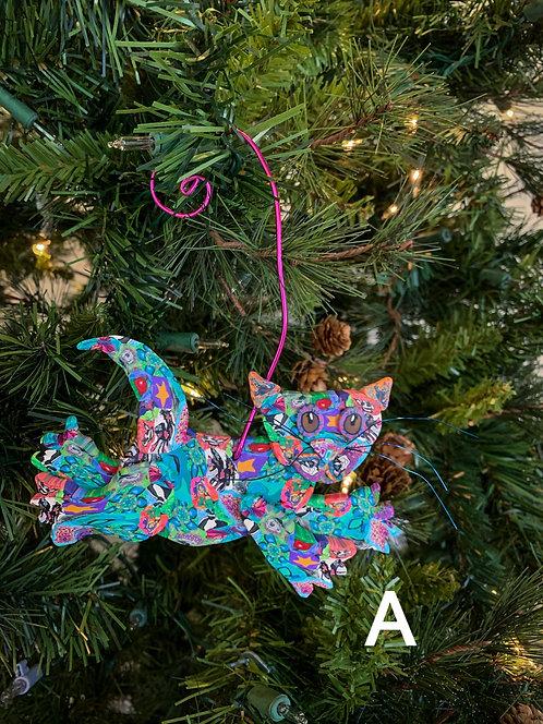 Cat Ornaments-Layl McDill