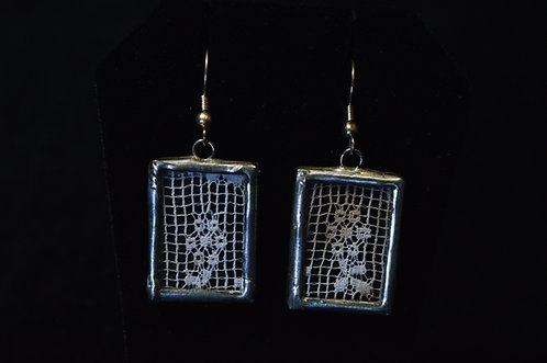 Lace Earrings-Debra Farley