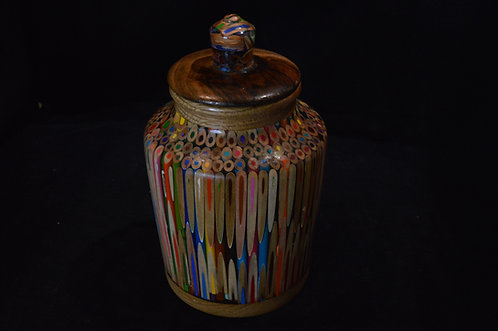 Colored Pencil Jar-Larry Jarvis