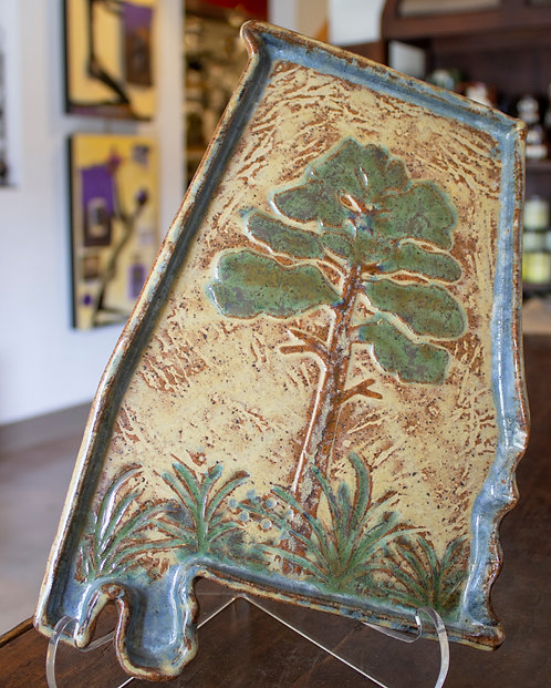 Pine Tree Alabama Tray-Carol Lammon
