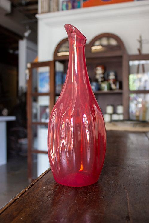 Red Glass Pitcher - Orbix