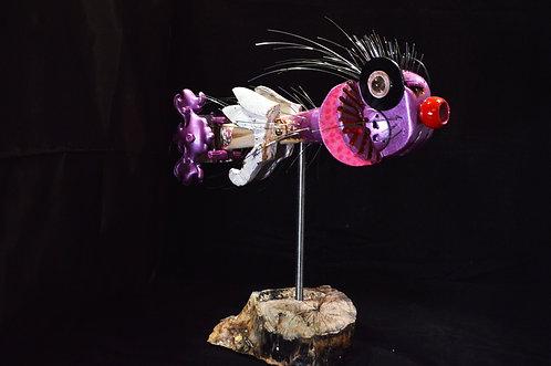 Pink Purple Fish-Barry Graham