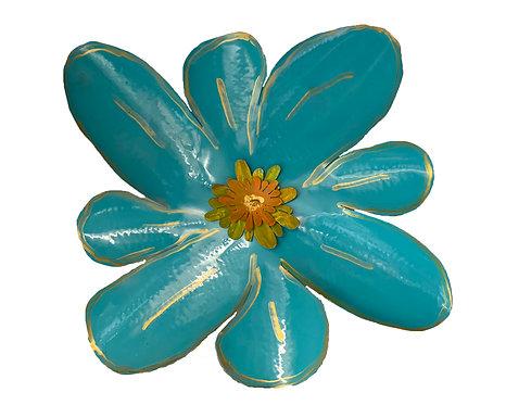 2' Teal Flower-Pat Juneau