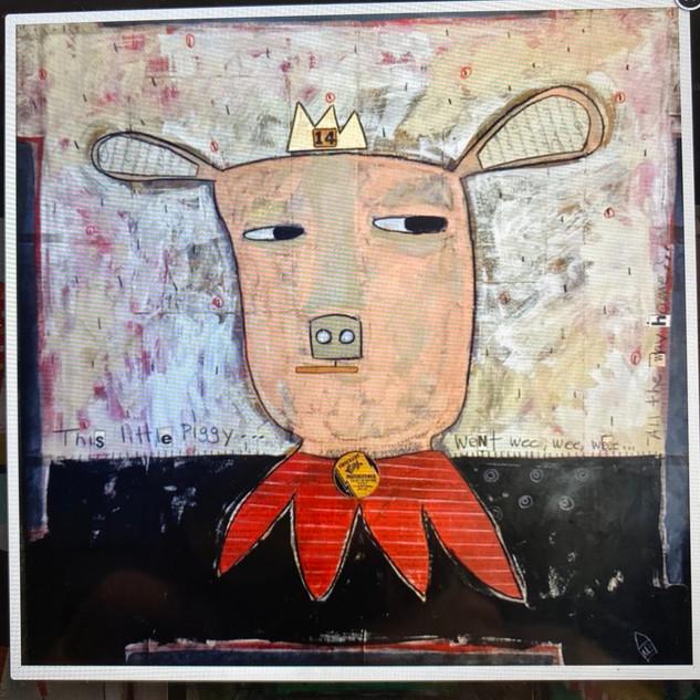 """""""This Little Piggy"""" by Marian Baker"""