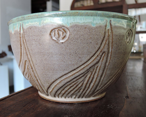 Large Carved Bowl-Marysia Galbraith