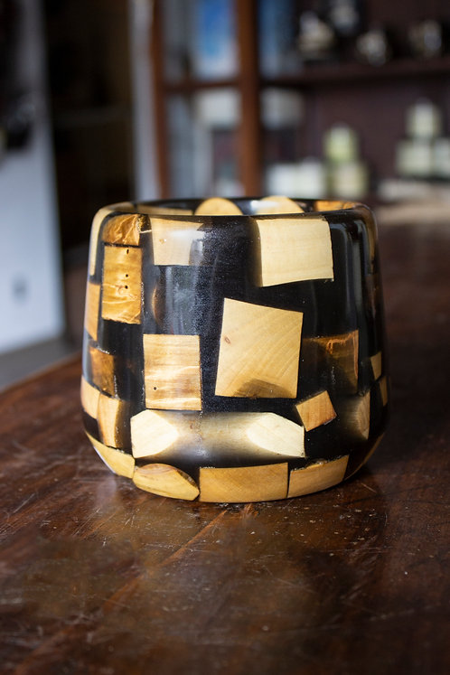 Woodchip Pencil Cup-Larry Jarvis