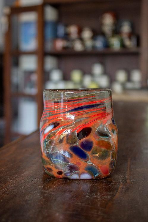 Square Highball Glass- Loretta Eby