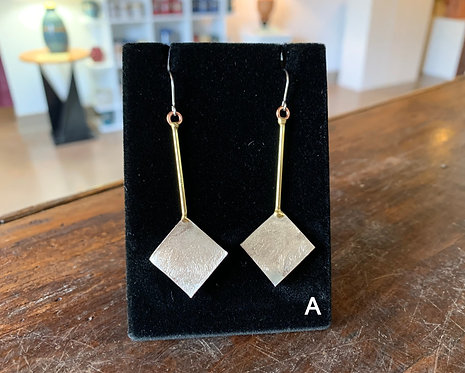 Abstract Earrings-Suzanne & Angelique Juneau