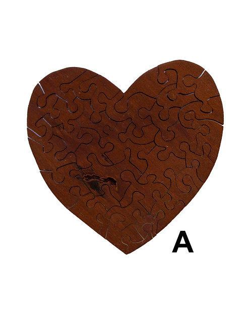 Heart Wood Puzzles-Chestnut & Hemlock